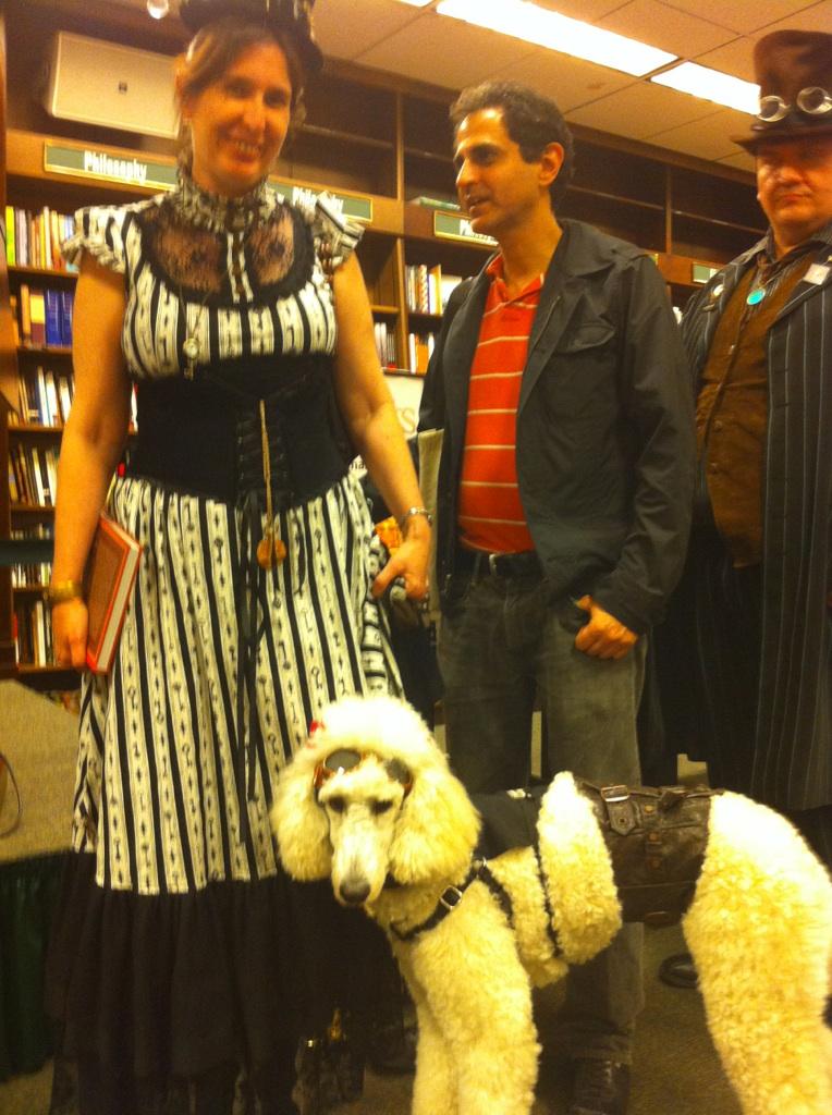 Steampunk poodle